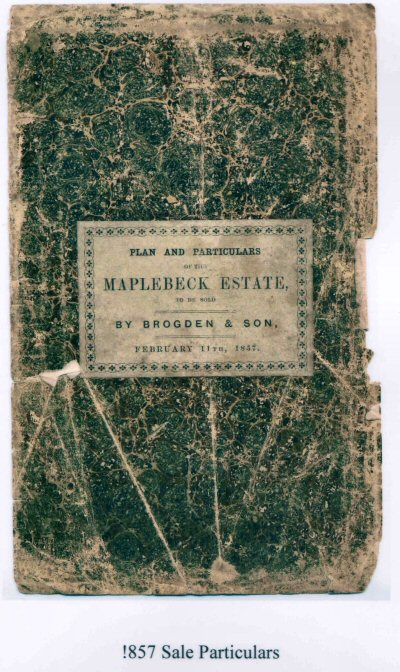 Sale Catalogue 1857